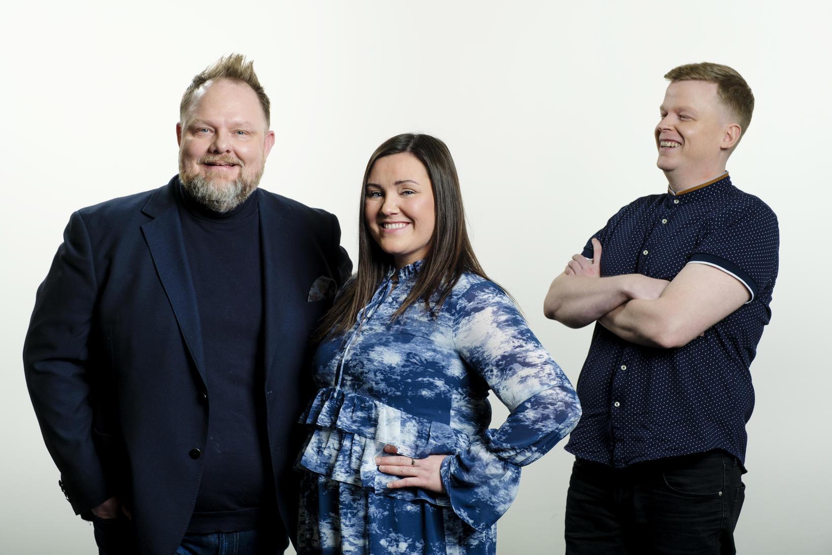 Einar Bárðarson, Anna Margrét Káradóttir og Yngvi Eysteinsson.