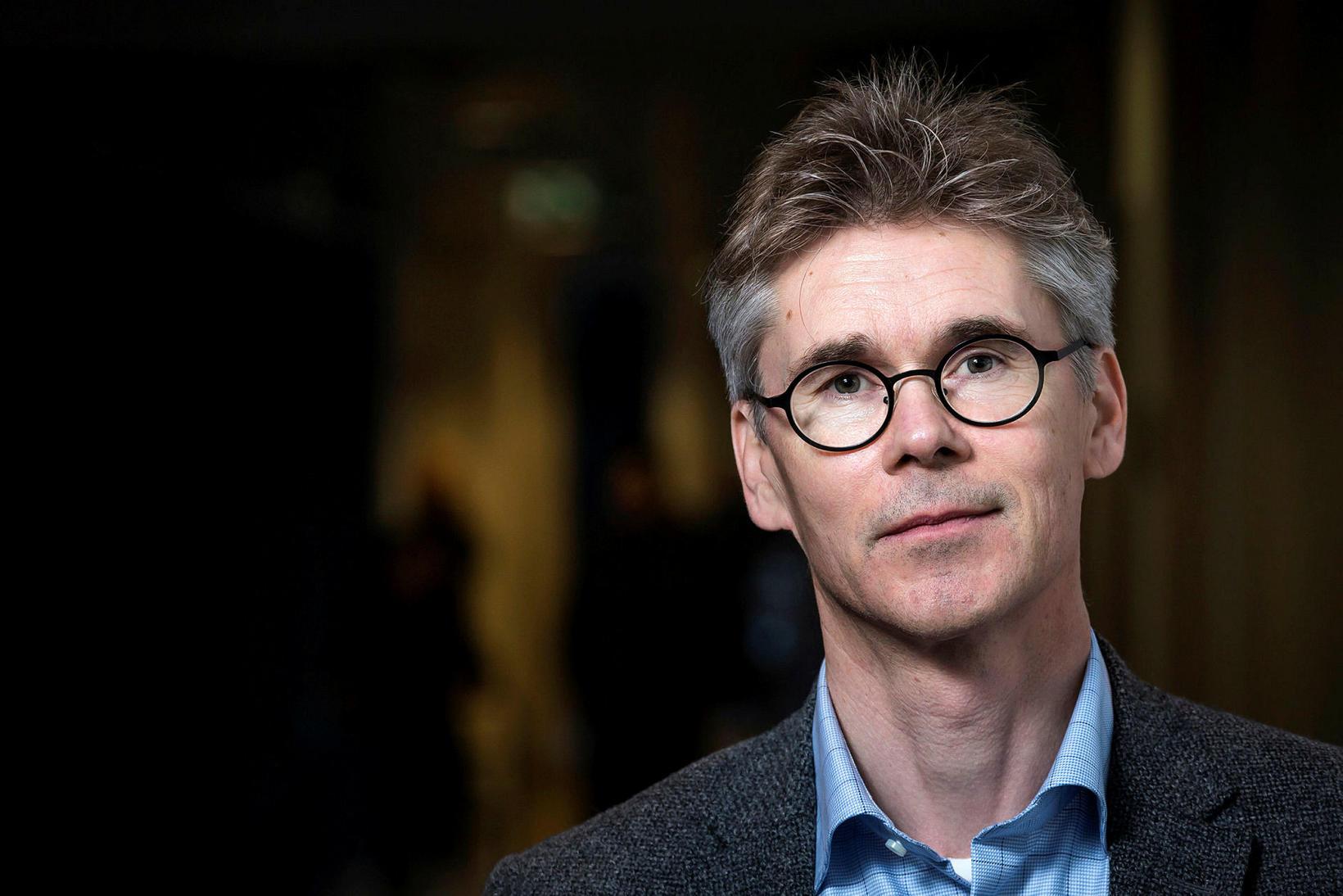 Magnús Gottfreðsson sérfræðingur í smitsjúkdómalækningum á Landspítala og prófessor við …