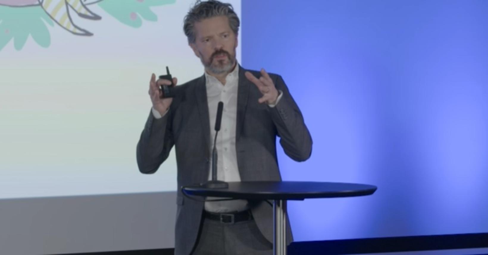 Dagur B. Eggertsson borgarstjóri á kynningarfundinum.