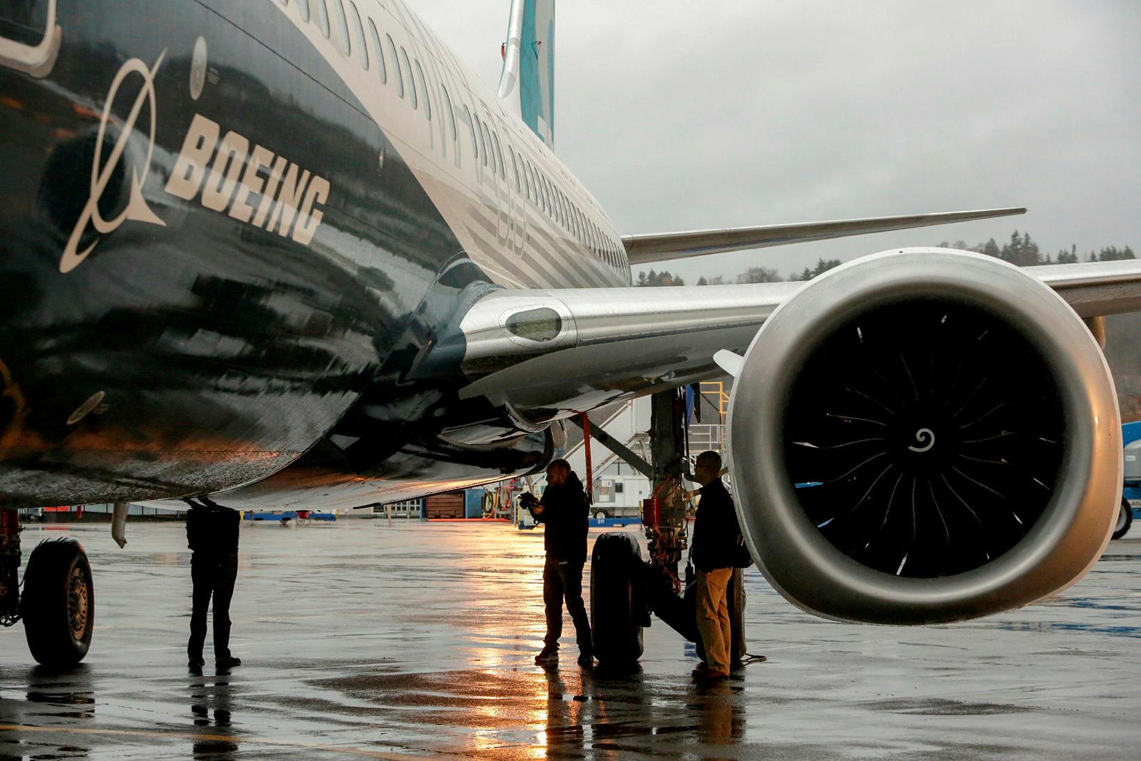 Boeing er stærsti framleiðandi flugvéla í heimi.