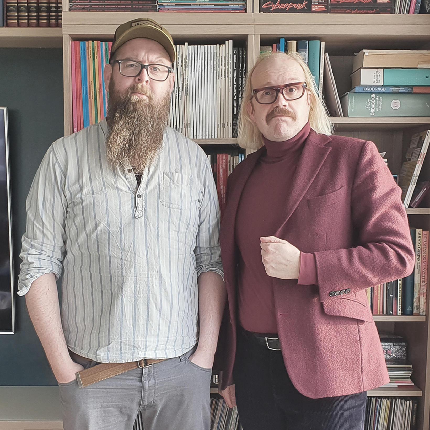 Snæbjörn Ragnarsson og Óttarr Proppé.
