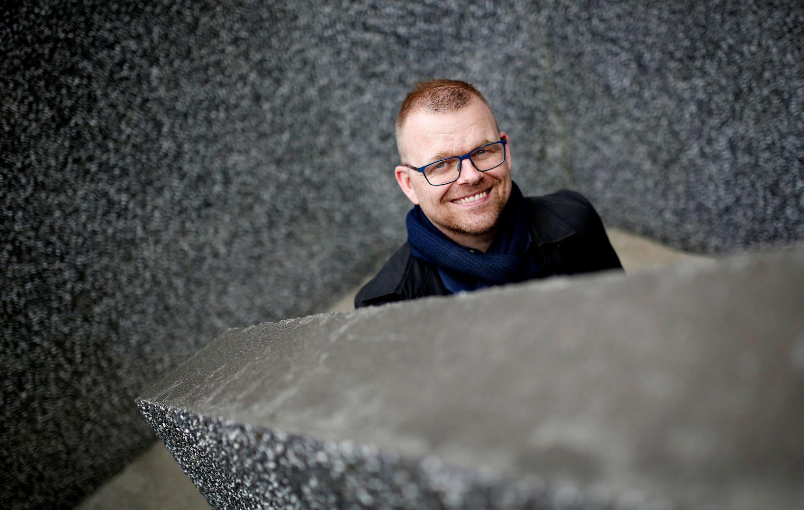 Ísleifur B. Þórhallsson tónleikahaldari.