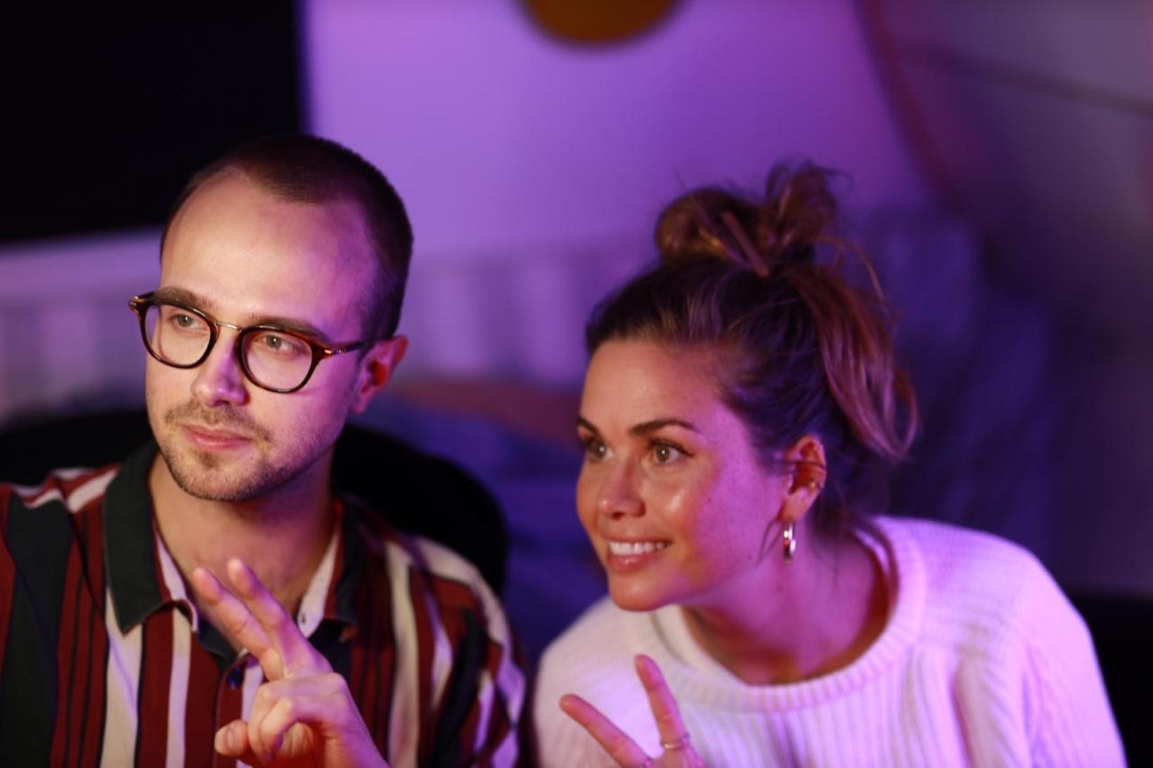 Bomarz og Klara.