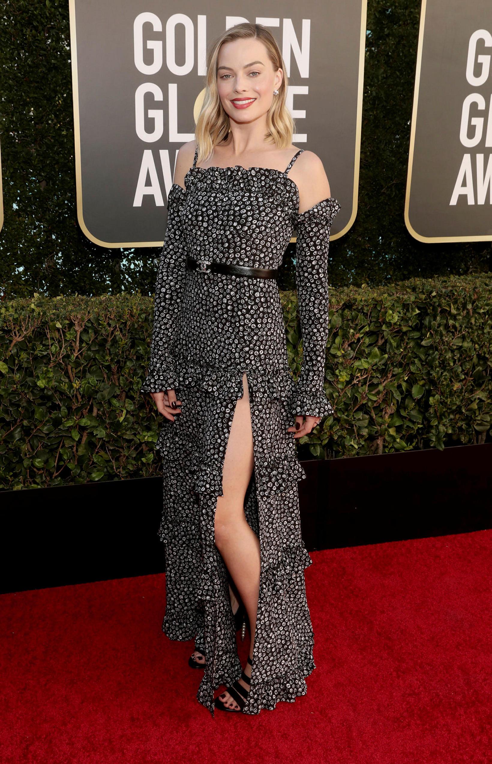 Margot Robbie klæddist kjól frá Chanel.