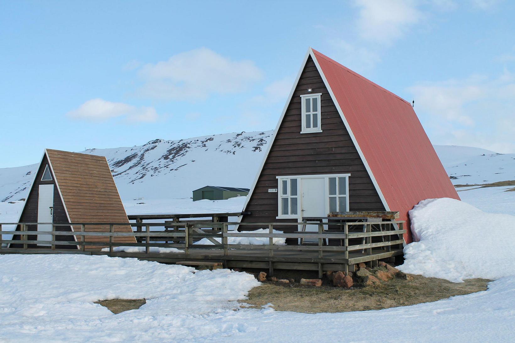 Gangnamannakofi við Þeistareyki.