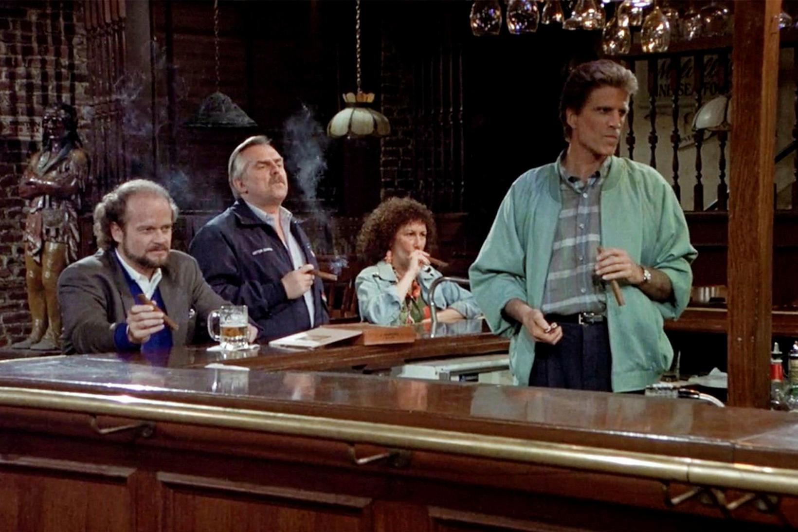 Frasier kom fyrst fram í Staupasteini 1984.