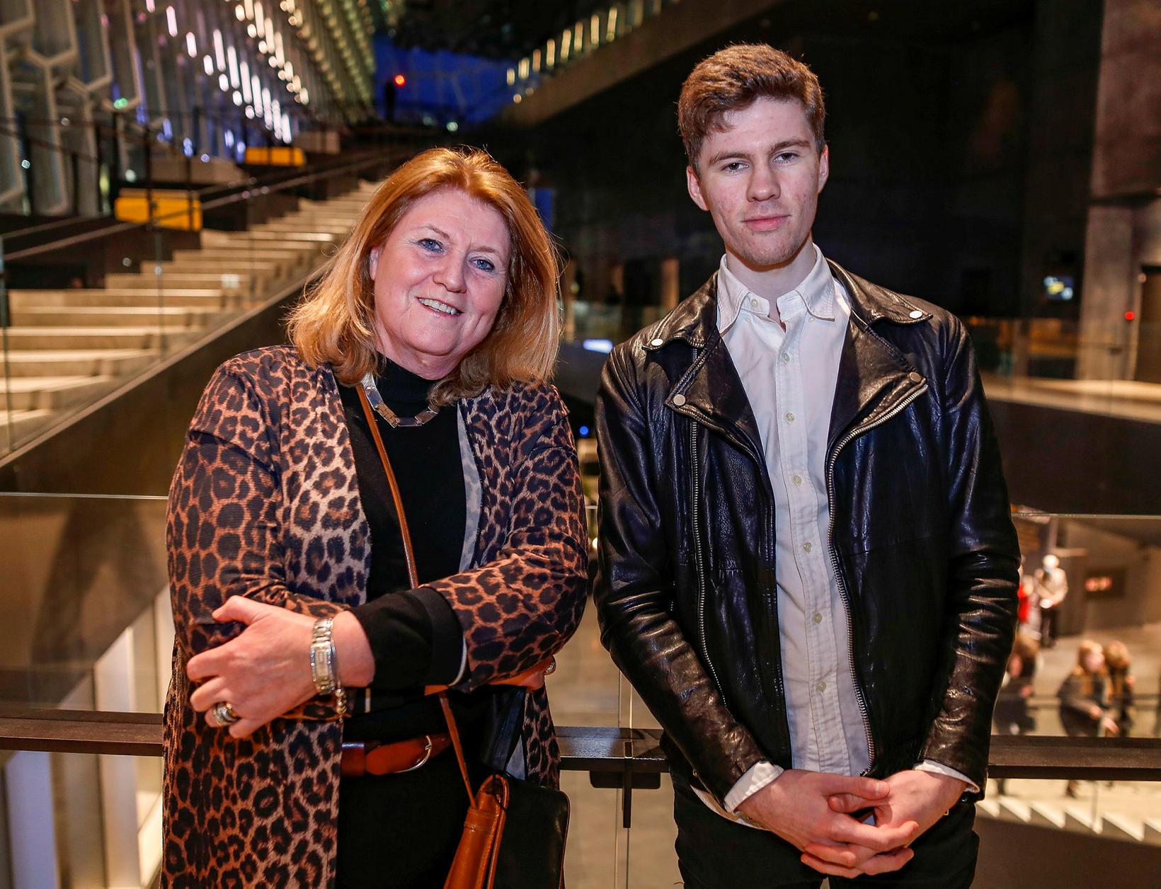 Fanney Baldursdóttir og Björn Helgi Björnsson.