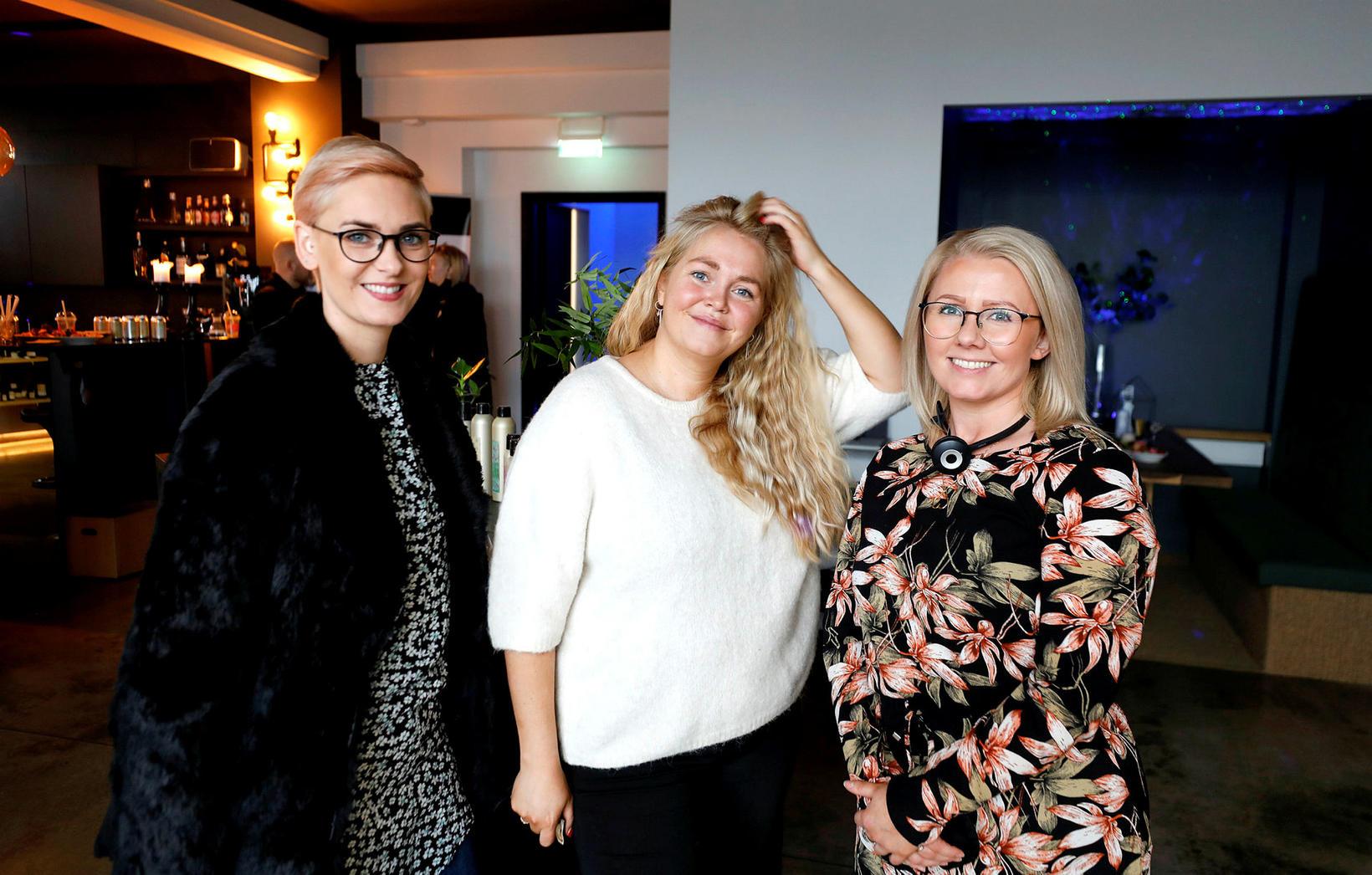 Svanhildur Ósk Guðjónsdóttir, Fía Ólafsdóttir og Fjóla Traustadóttir.