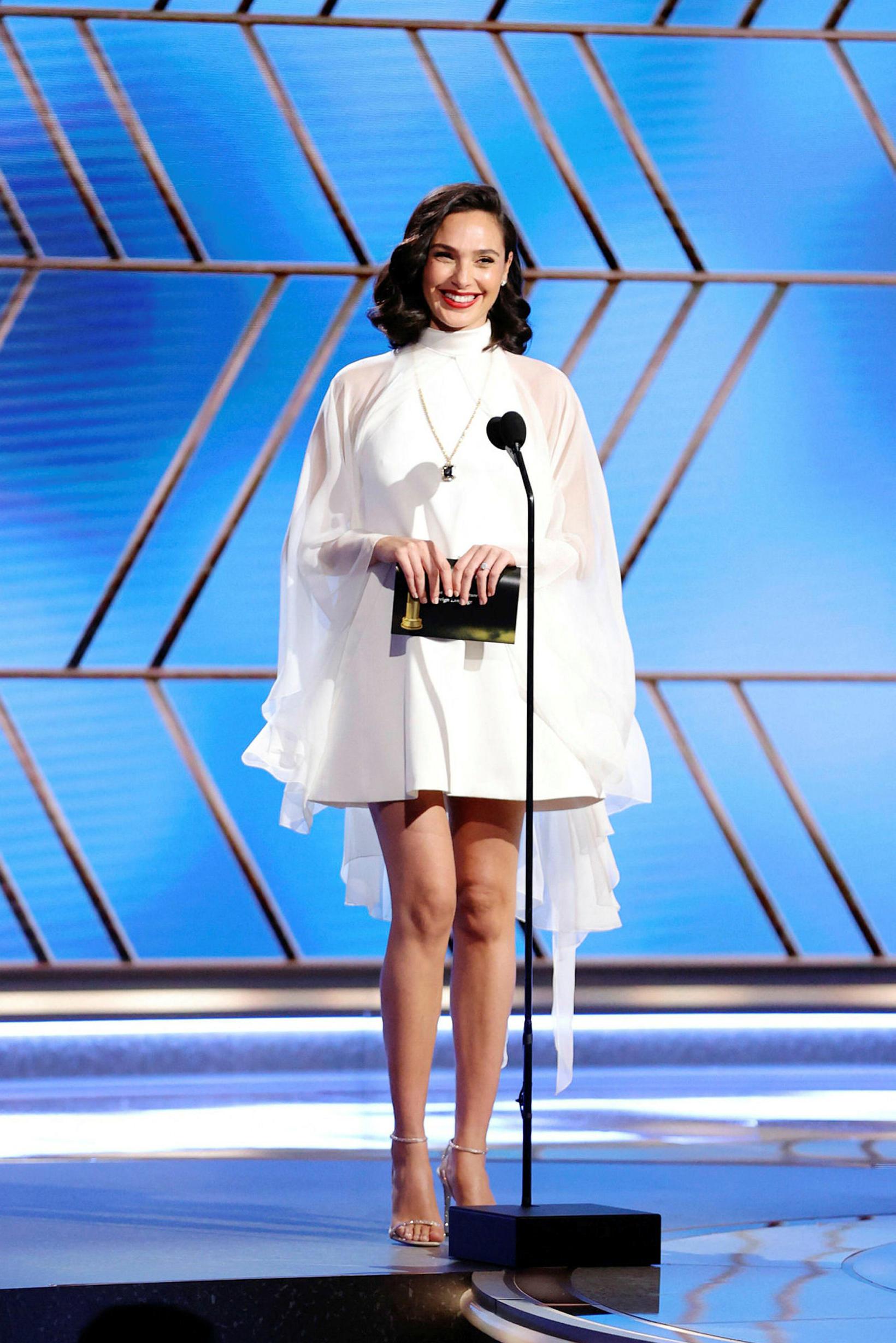 Gal Gadot á Golden Globe.
