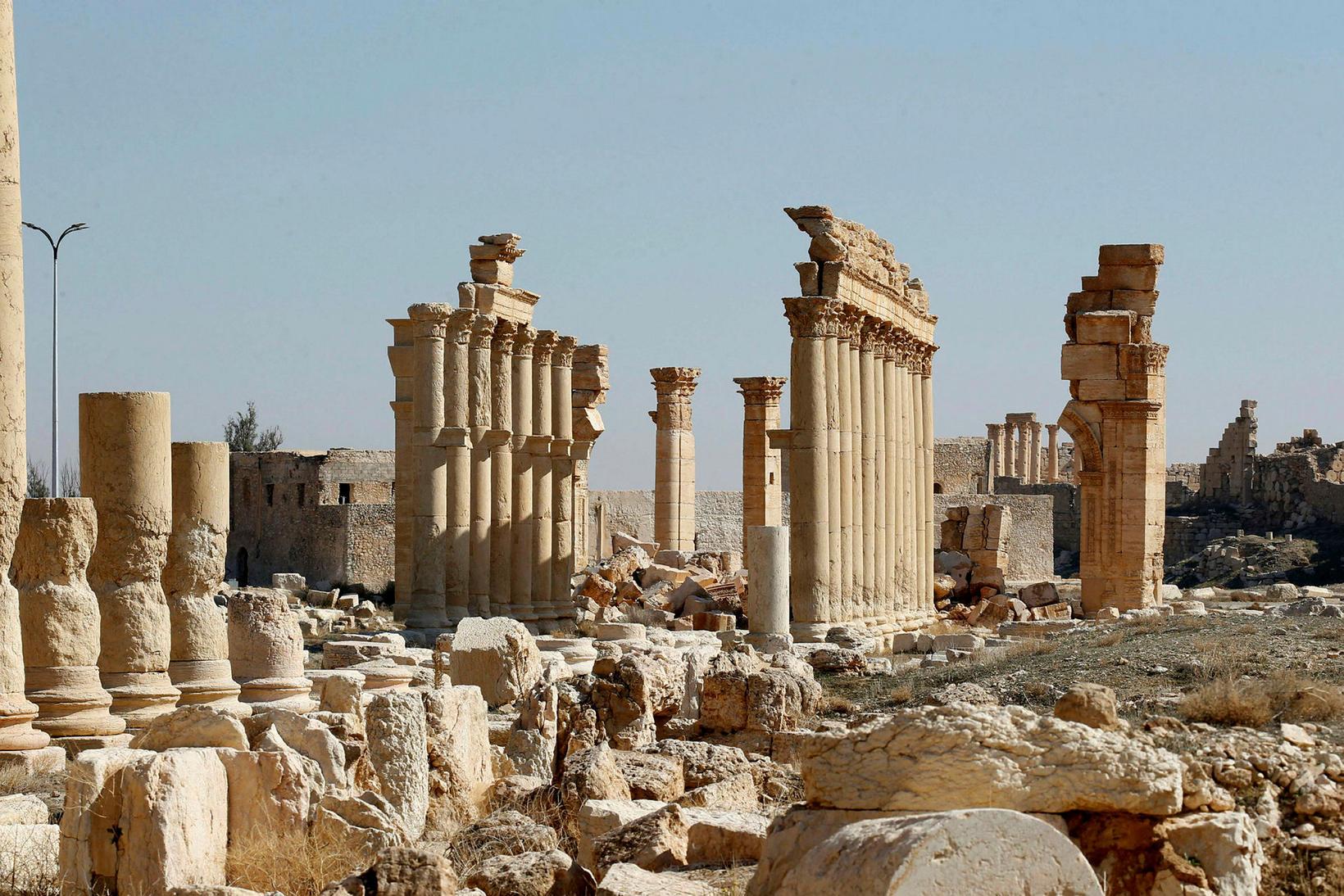7. febrúar 2021 í Palmyra.