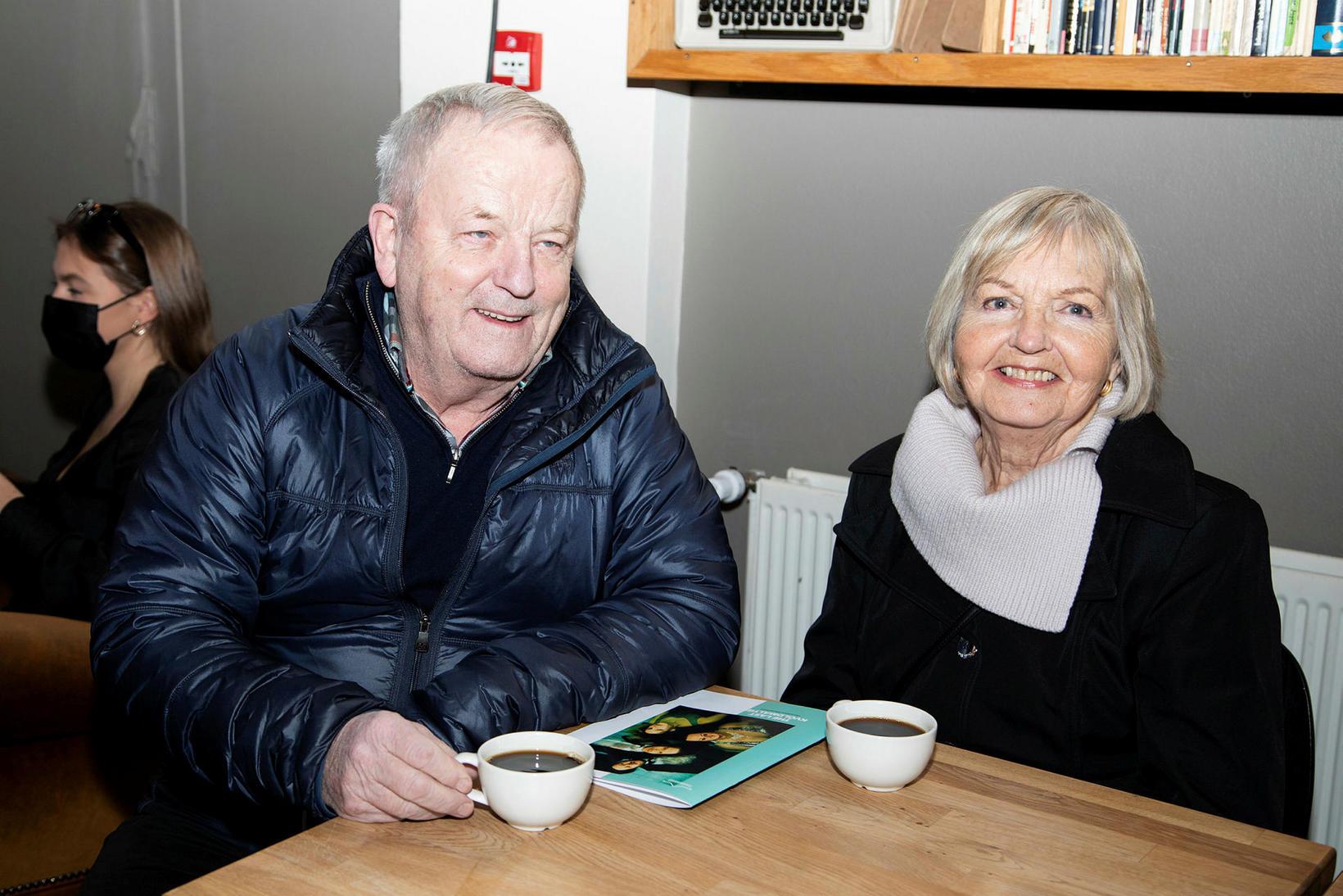 Halldór Magnússon og Gunnlaug Árnadóttir.