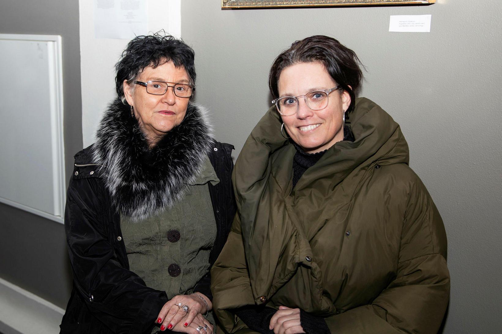 Magnea Reinaldsdóttir og Helena Stefáns Magneudóttir.