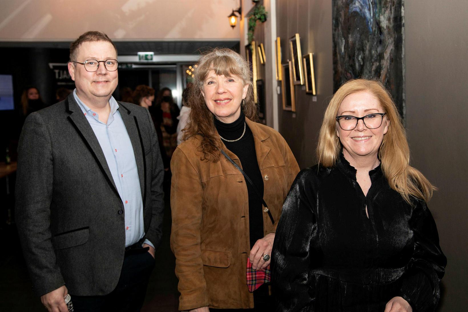 Breki Karlsson, Kolbrún Halldórsdóttir og Steinunn Þórhallsdóttir.