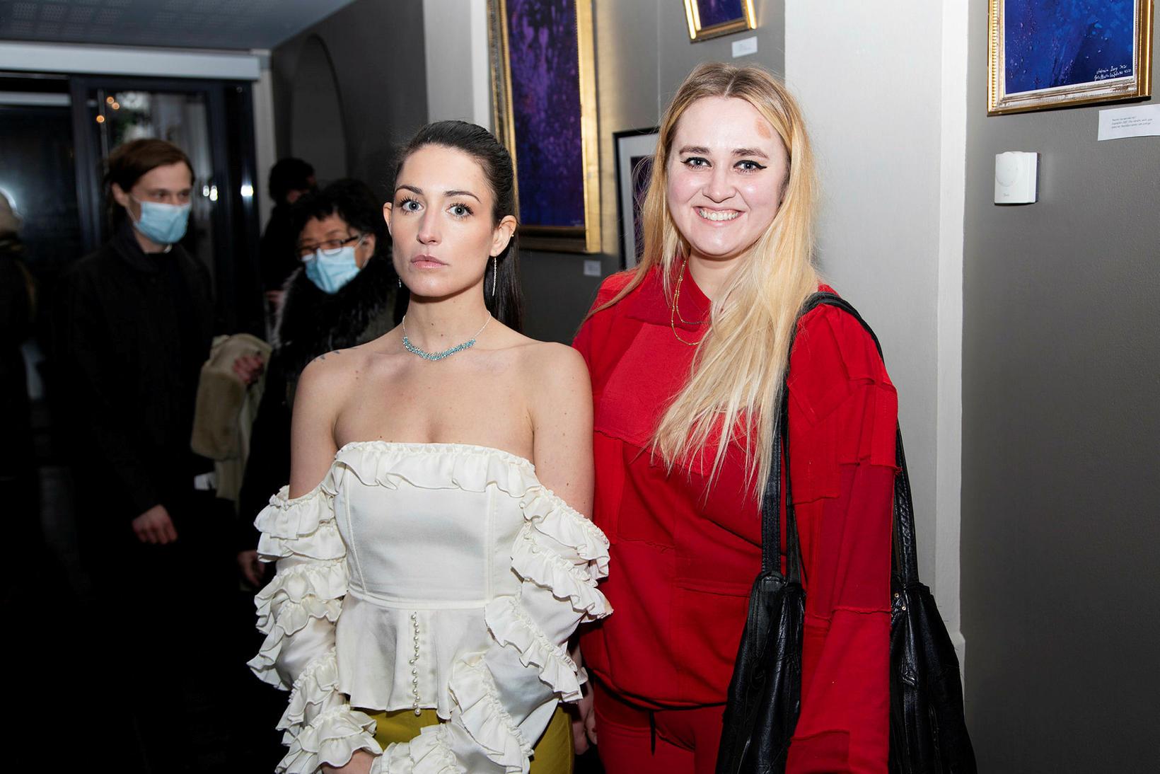 Kolfinna Nikulásdóttir og Anna María Tómasdóttir.