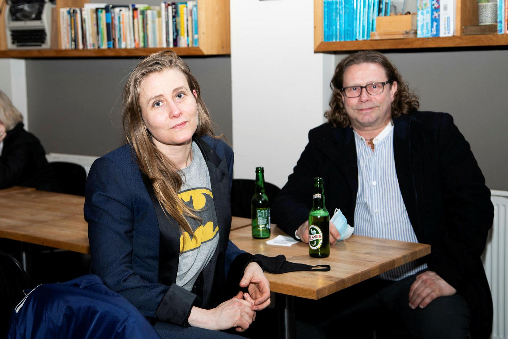 Katrín Inga og Jón Ólafur Jóhannsson.