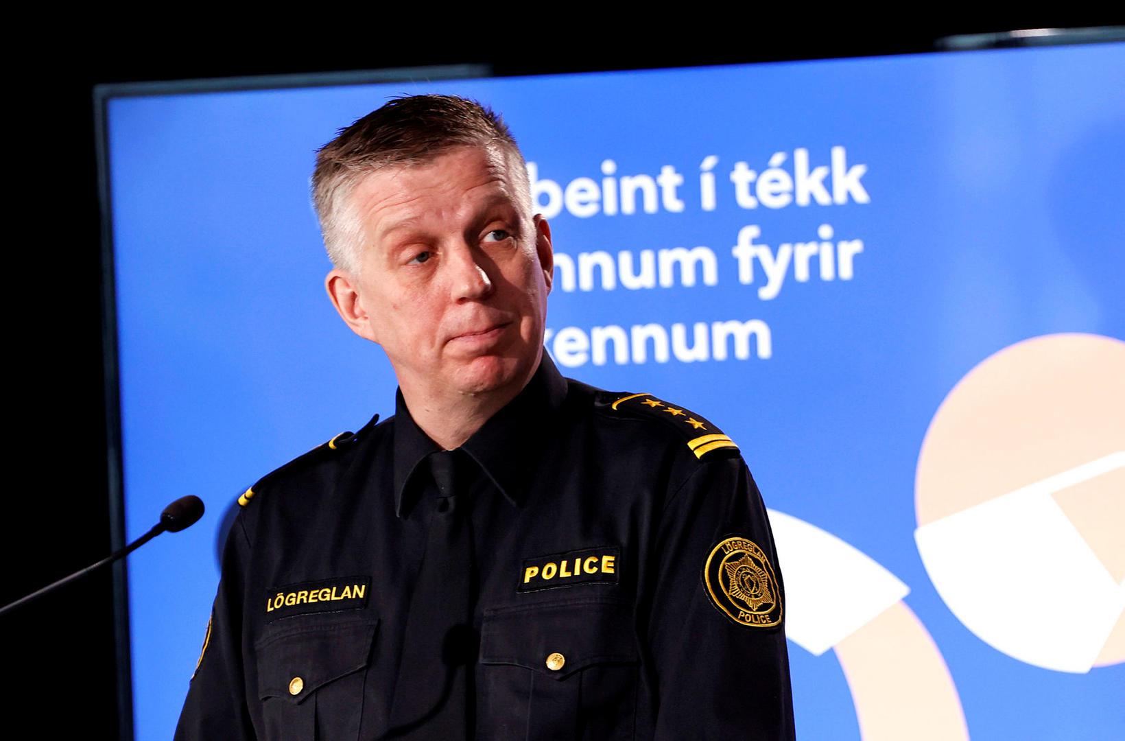 Víðir Reynisson ræddi um mögulegt eldgos í morgunþættinum Ísland vaknar.