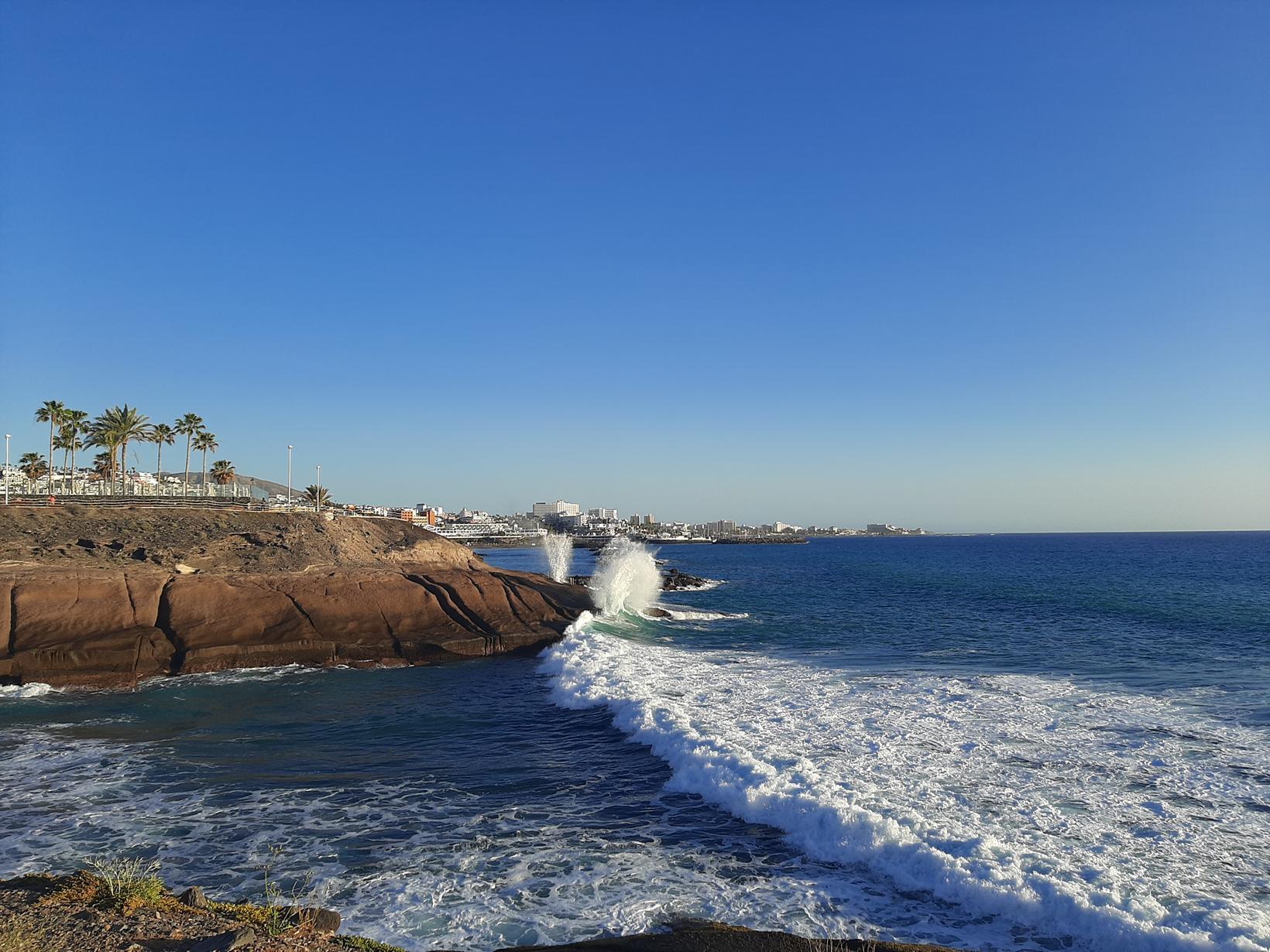 Strendur Tenerife eru fallegar.