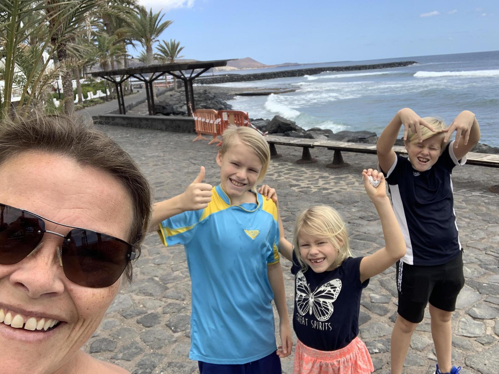 Sirrý hefur búið á Tenerife í sjö ár.