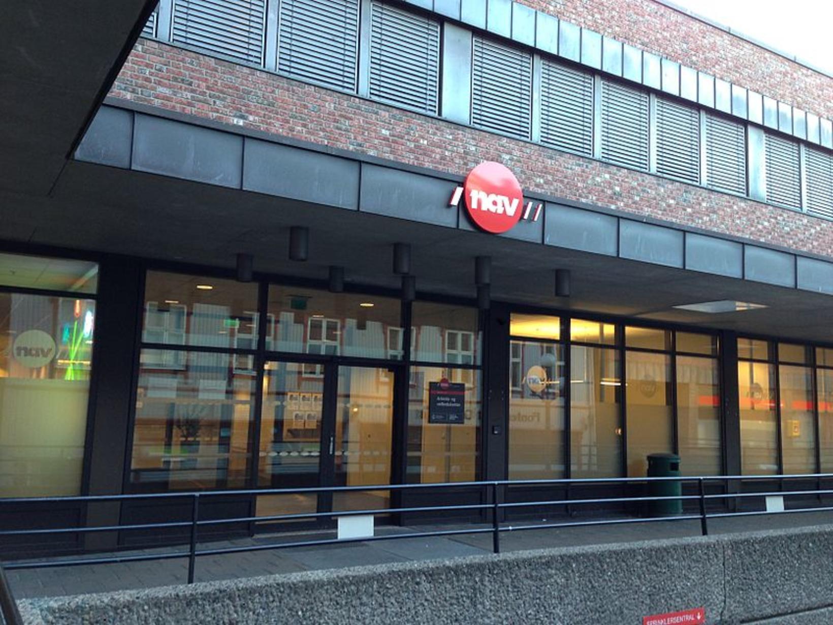 Skrifstofa norsku vinnu- og félagsmálastofnunarinnar NAV (Norsk arbeids- og velferdsetat) …
