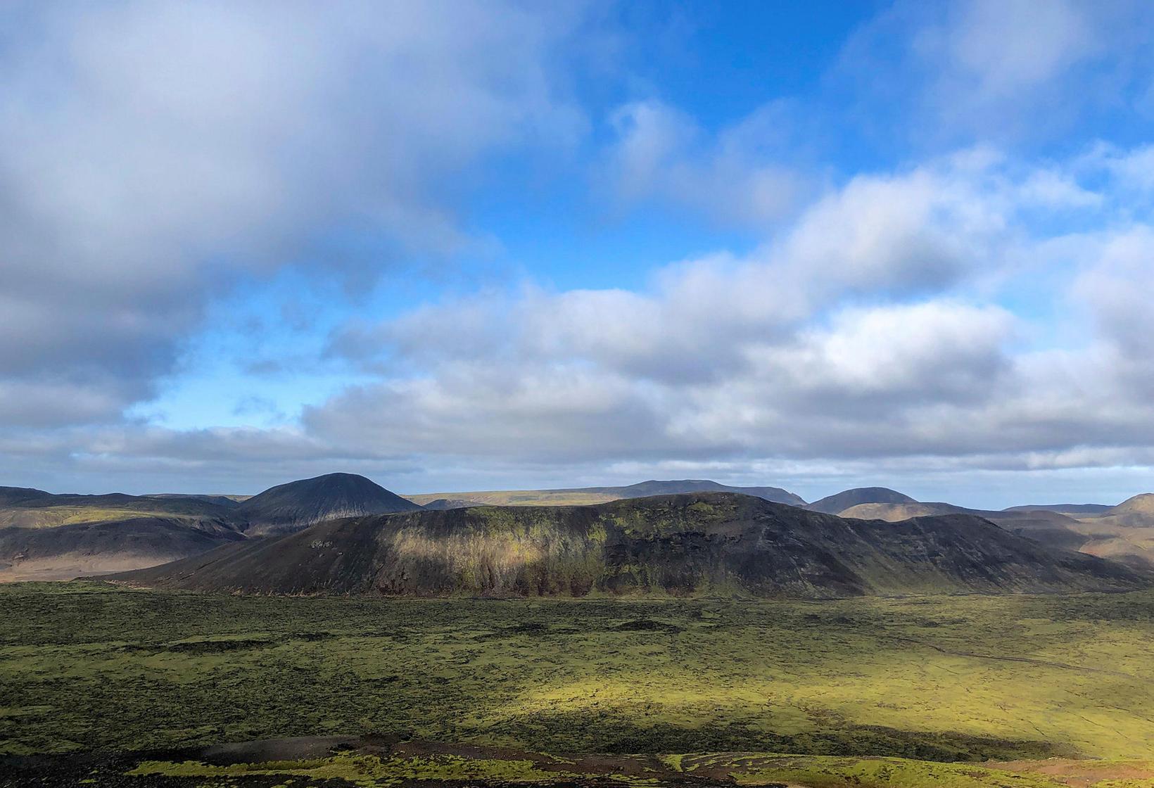 Fagradalsfjall mountain.