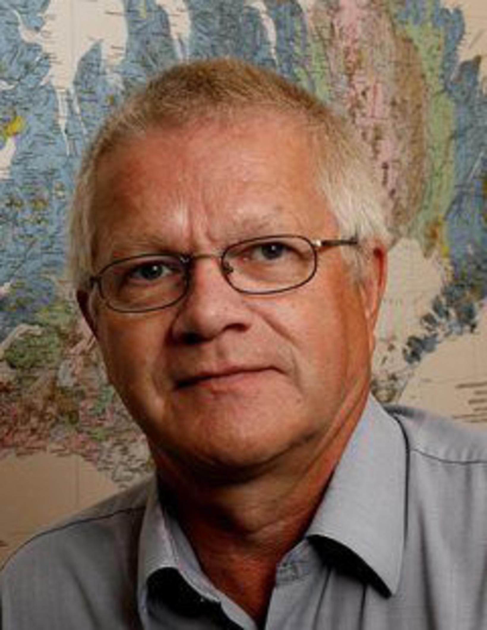 Sigmundur Einarsson jarðfræðingur.