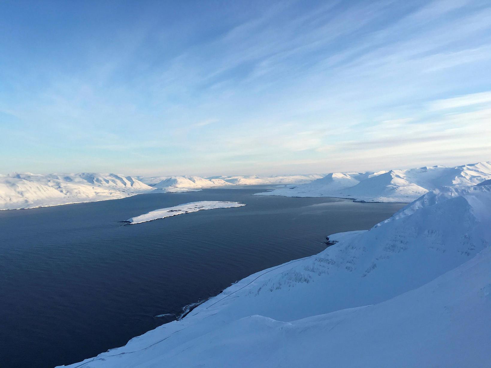 Eyjafjörðurinn í öllu sínu veldi.