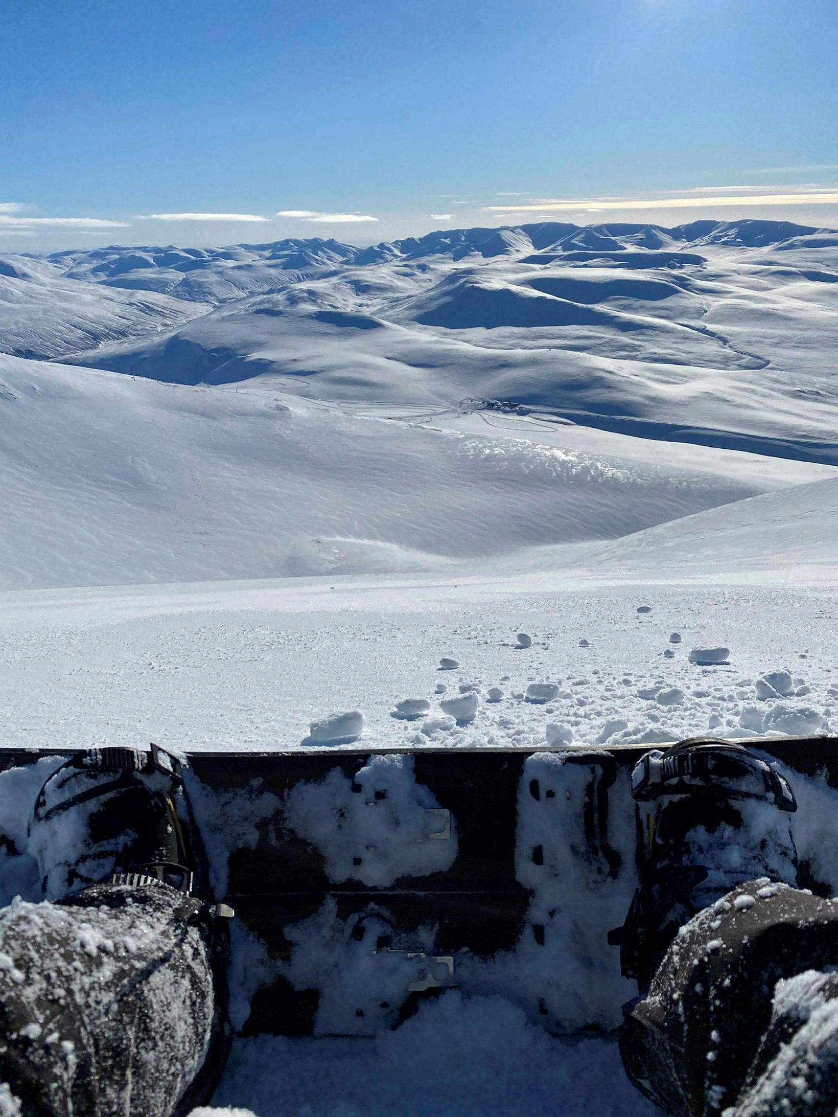 Fjallabretti er auðvelt í notkun, alveg eins og fjallaskíði.