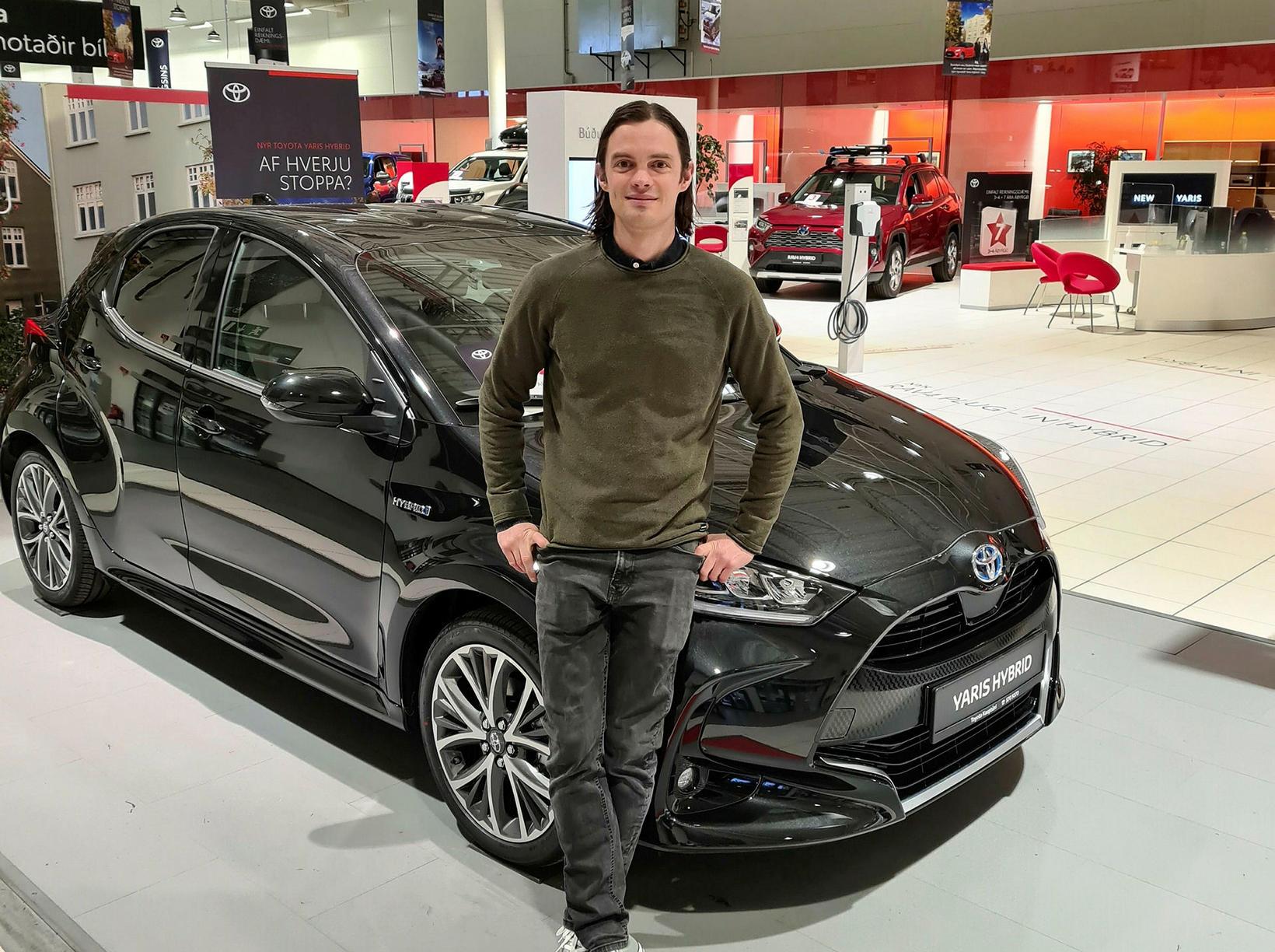 Hörður Bjarnason, tæknifulltrúi hjá Toyota á Íslandi.