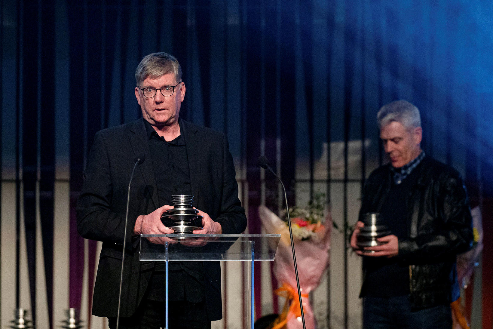 Kristján H. Kristjánsson og Kristján Franklín Magnús.