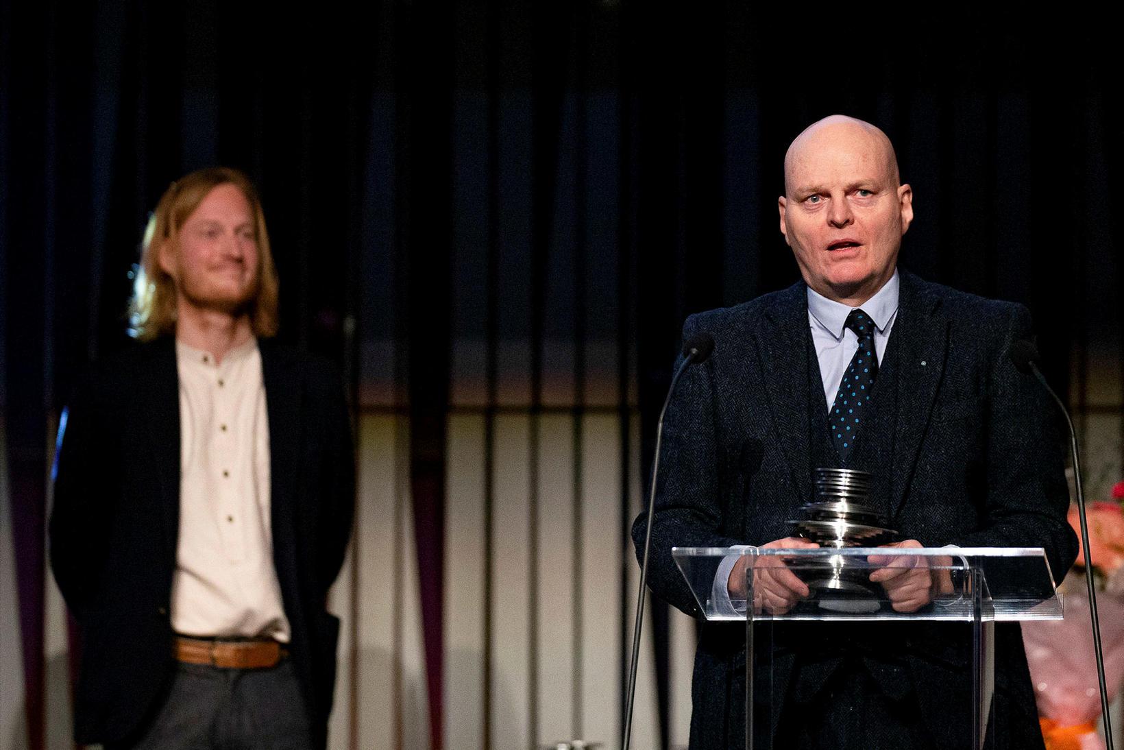 Sverrir Norland og Hallgrímur Helgason.