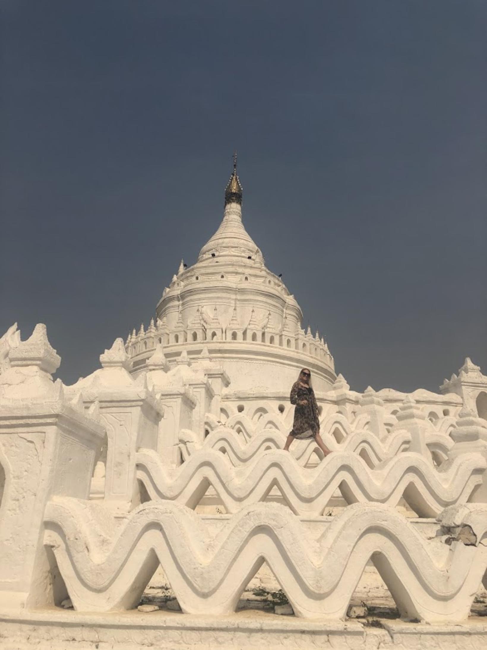 Í Mandalay í Mjanmar.