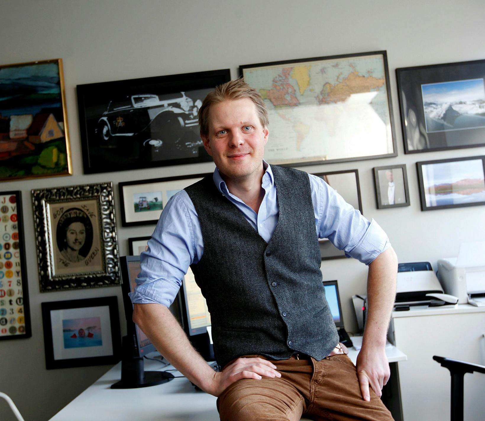 Ásberg Jónsson, framkvæmdastjóri Nordic Visitor.