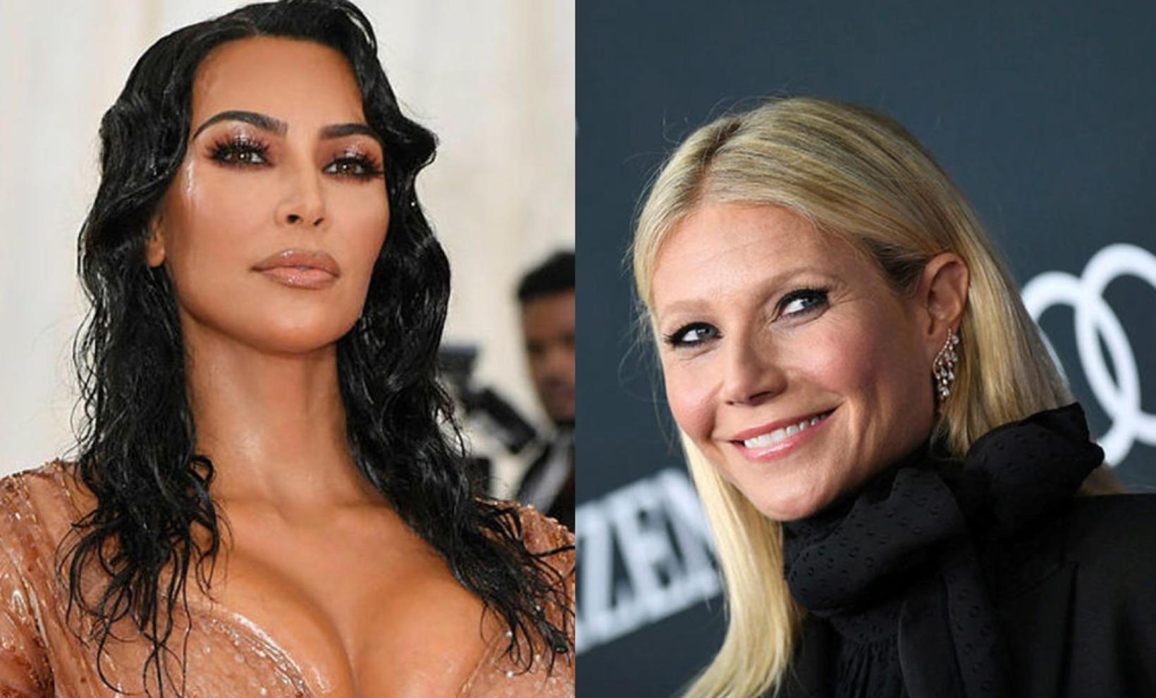 Gwyneth Palthrow sendi vinkonu sinni Kim Kardashian skemmtilegan pakka á …