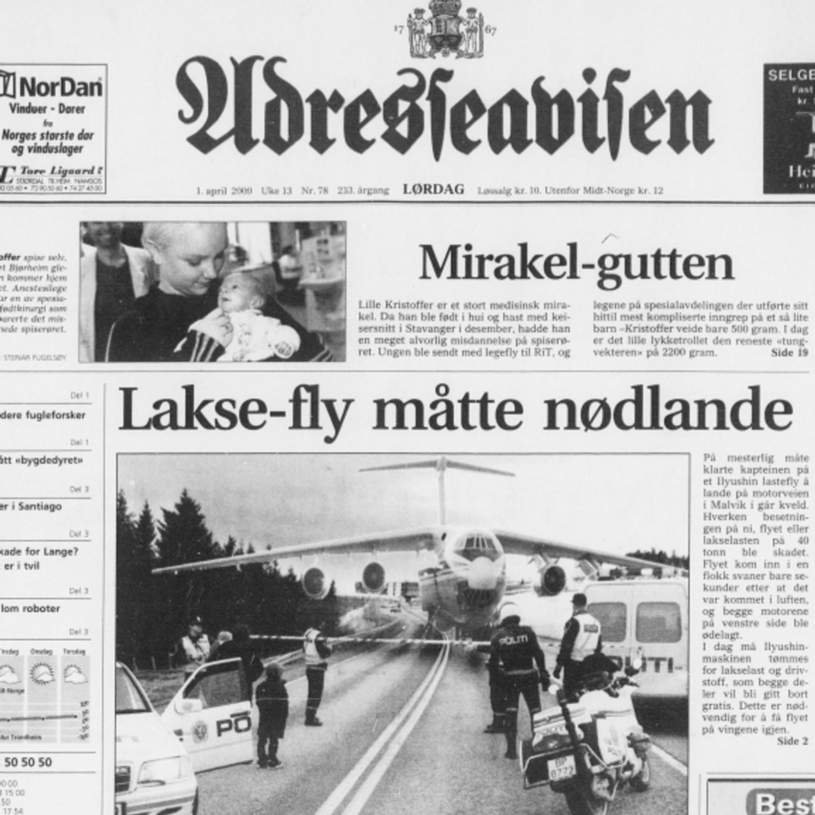 Laxagabbið árið 2000 var svo vel úr garði gert að …