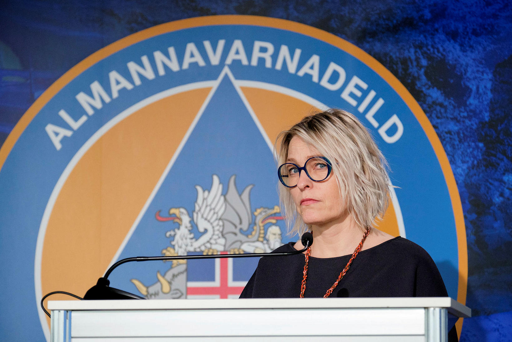 Kristín Jónsdóttir náttúruvársérfræðingur.