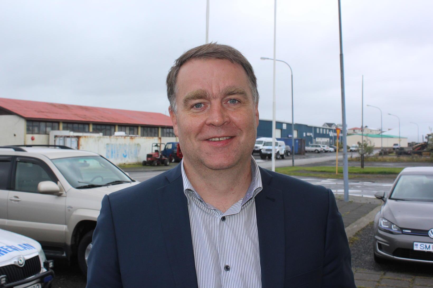 Björn Ingi Jónsson, verkefnastjóri almannavarna á Suðurlandi.
