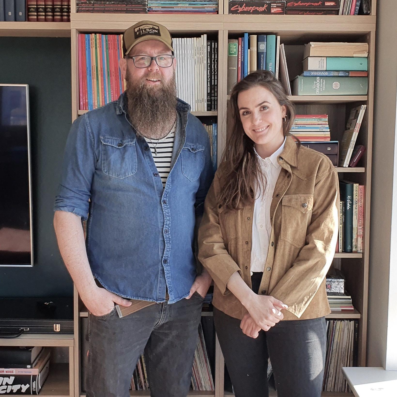 Snæbjörn Ragnarsson og Birna Pétursdóttir.