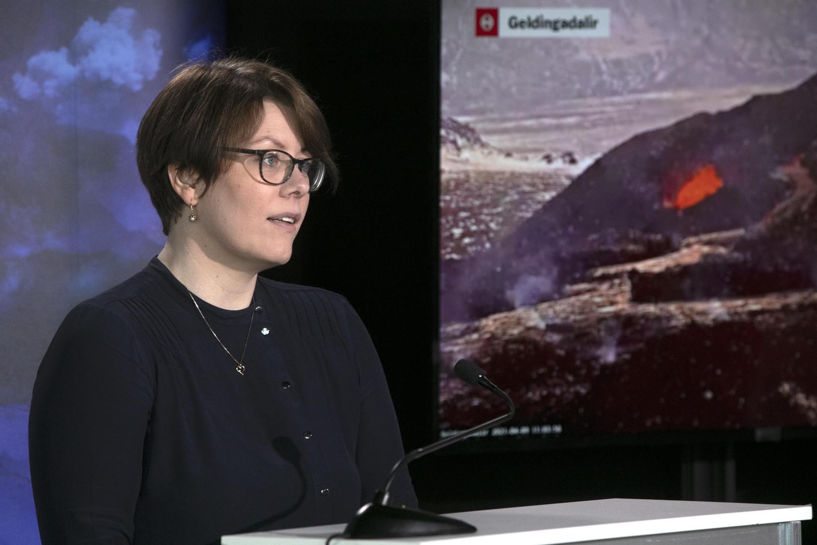 Elín Björk Jónasdóttir, hópstjóri veðurþjónustu Veðurstofu Íslands.