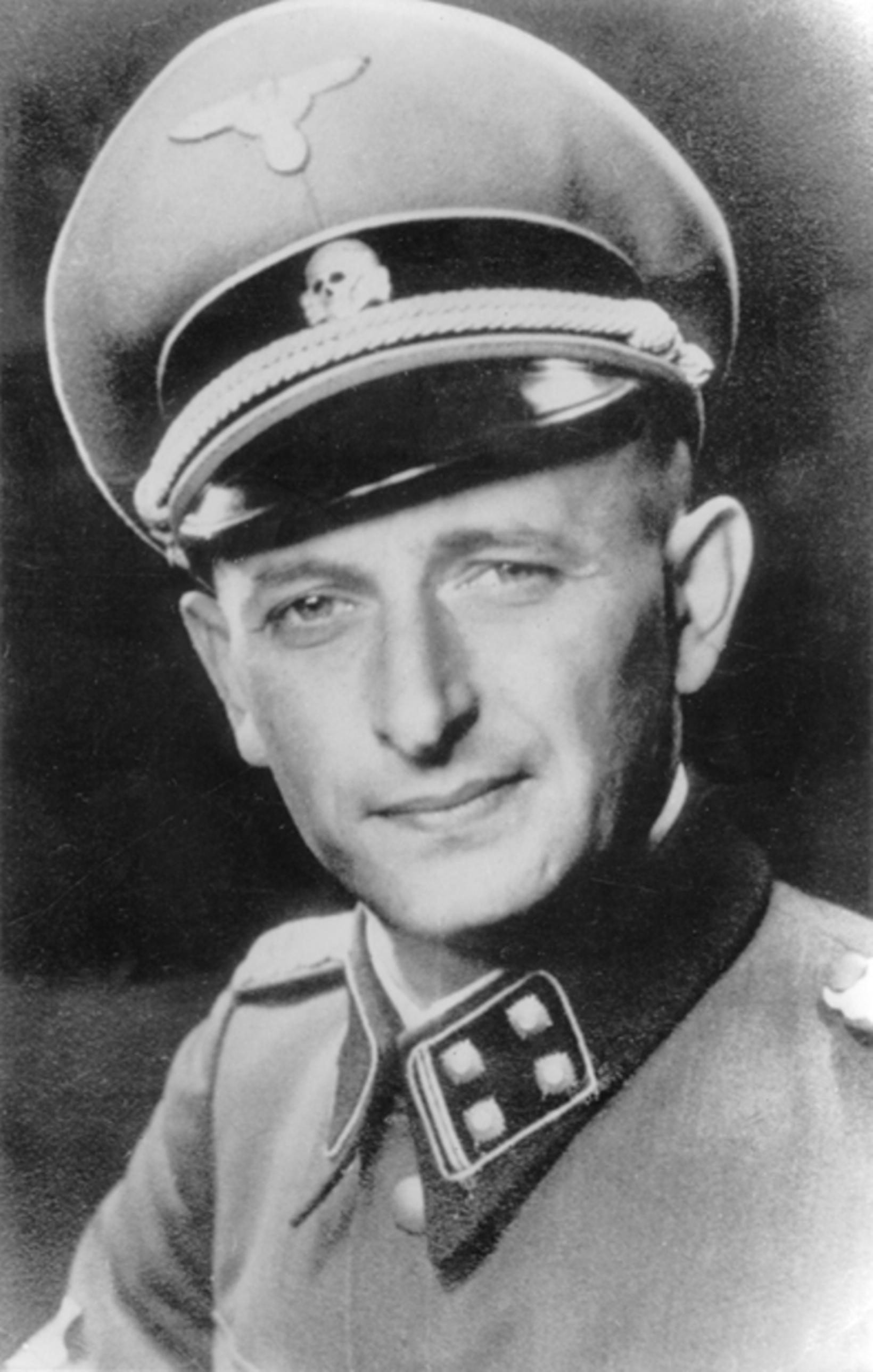 Adolf Eichmann, mynd frá árinu 1942.