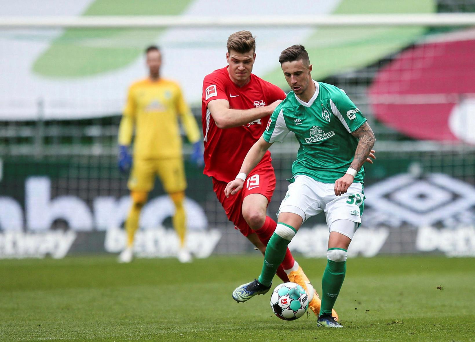 Leipzig vann öruggan sigur á Werder Bremen.