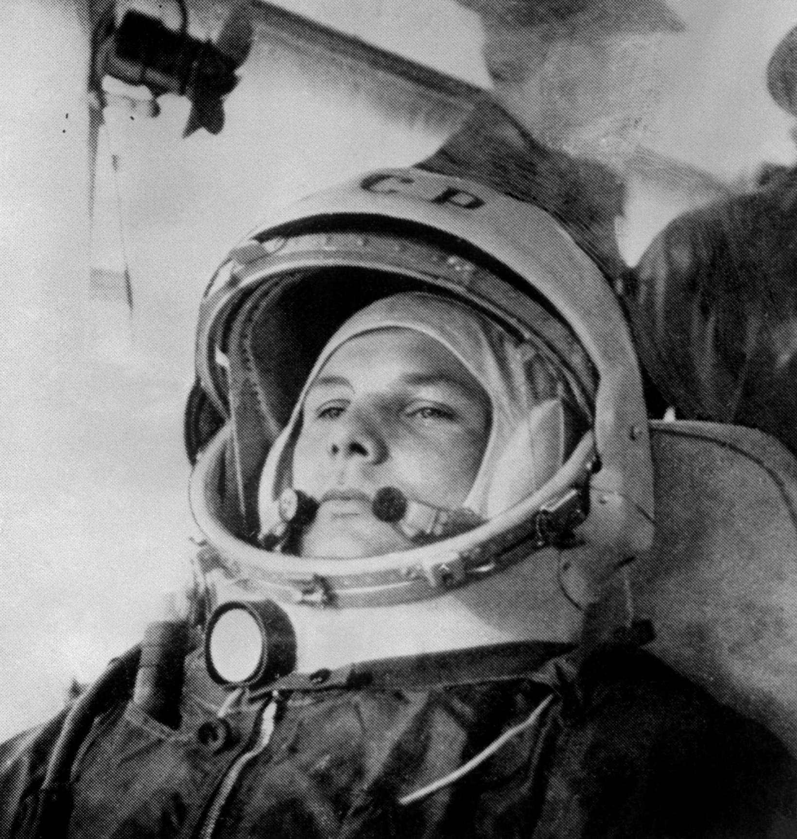 Júrí Gagarín.