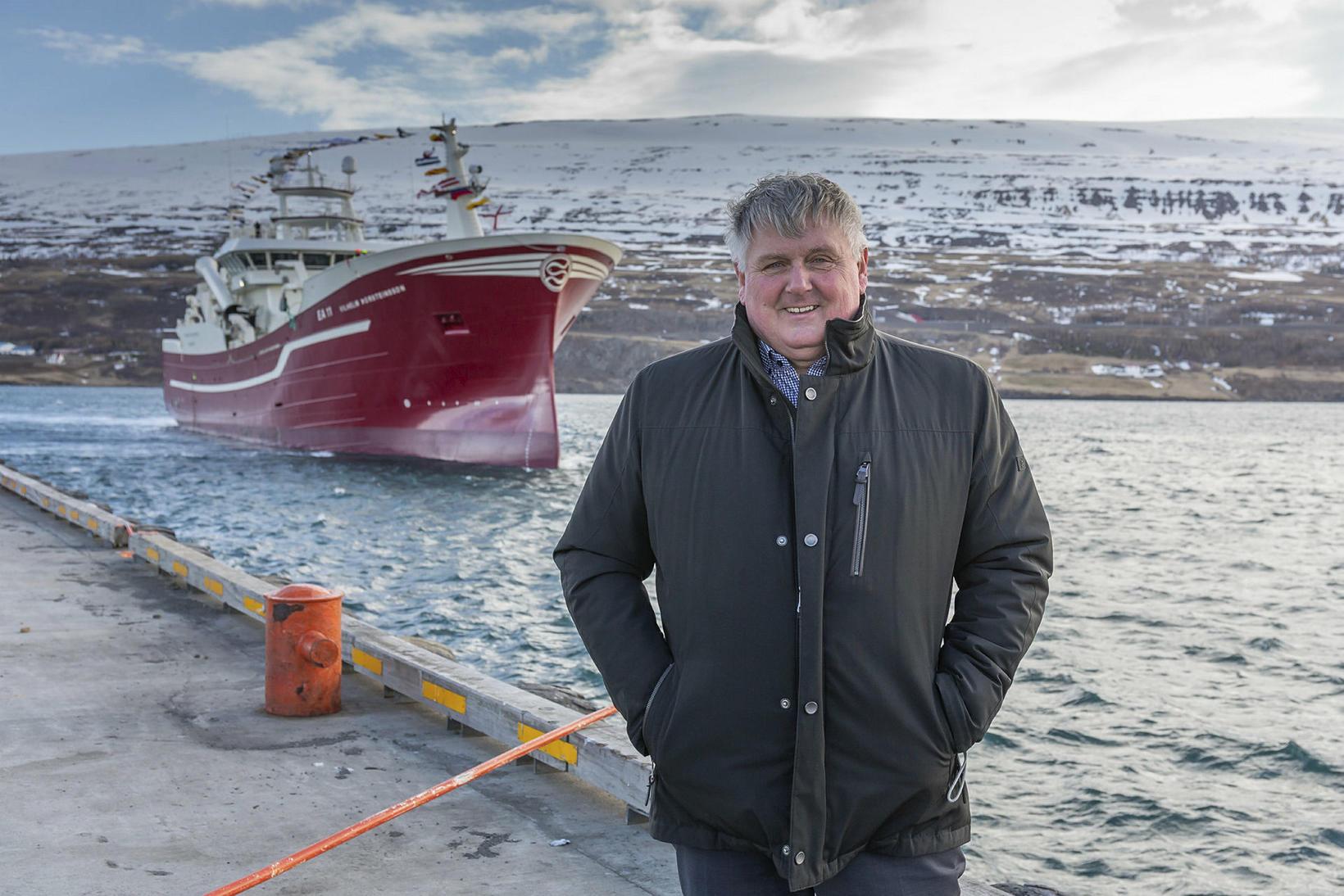 Kristján Vilhelmsson, útgerðarstjóri Samherja.