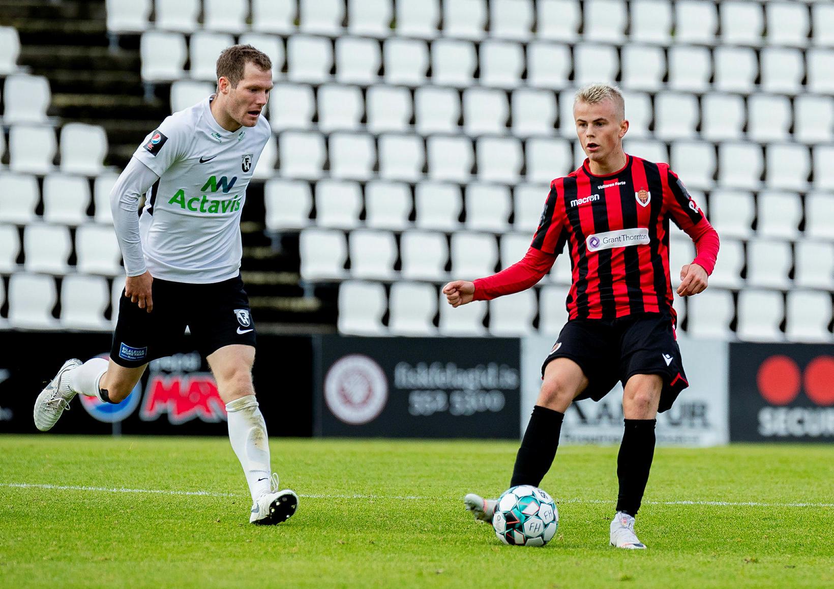 Björn Daníel Sverrisson er einn þeirra leikmanna sem átti erfitt …