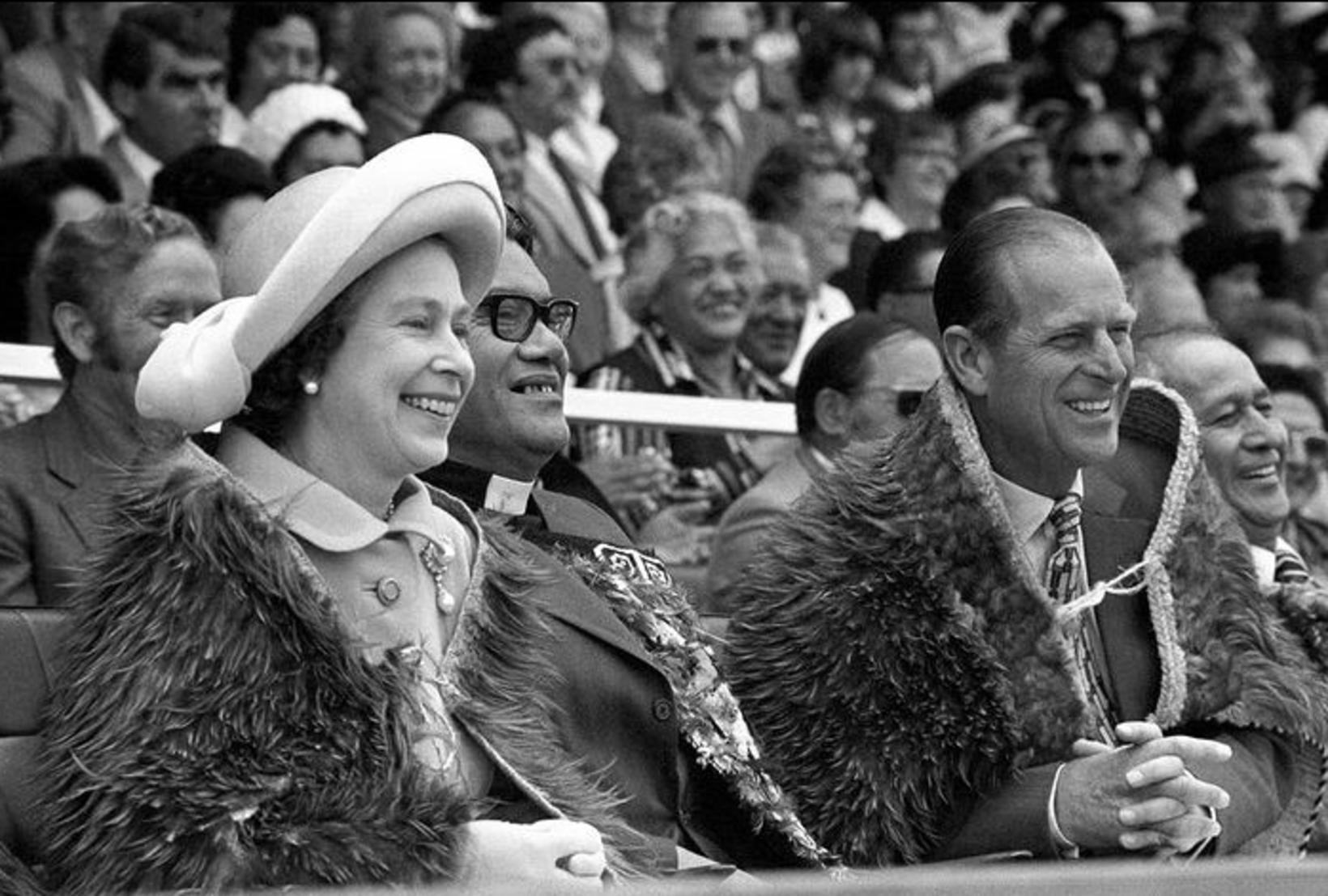 Elísabet Englandsdrottning og Filippus prins ferðuðust víða saman.