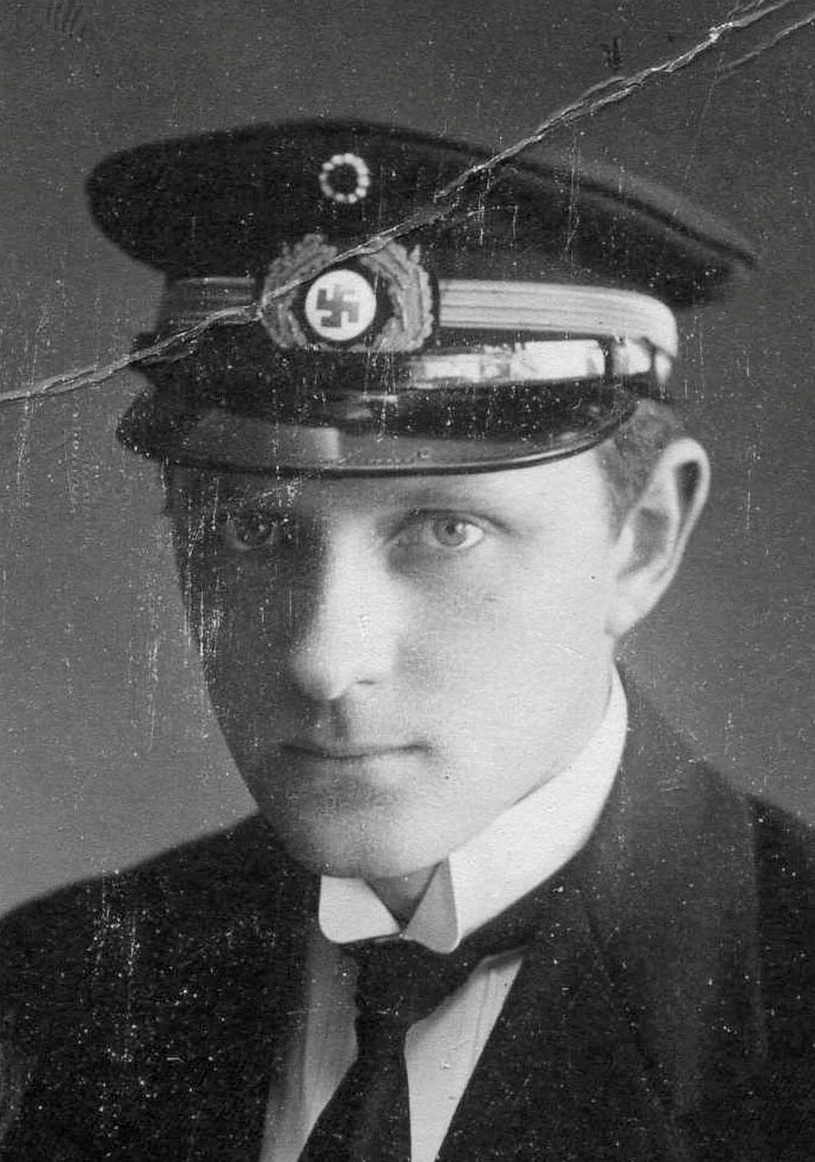 Gunnlaugur Jónsson Fossberg var myndarmaður og er Hörður nokkuð líkur …