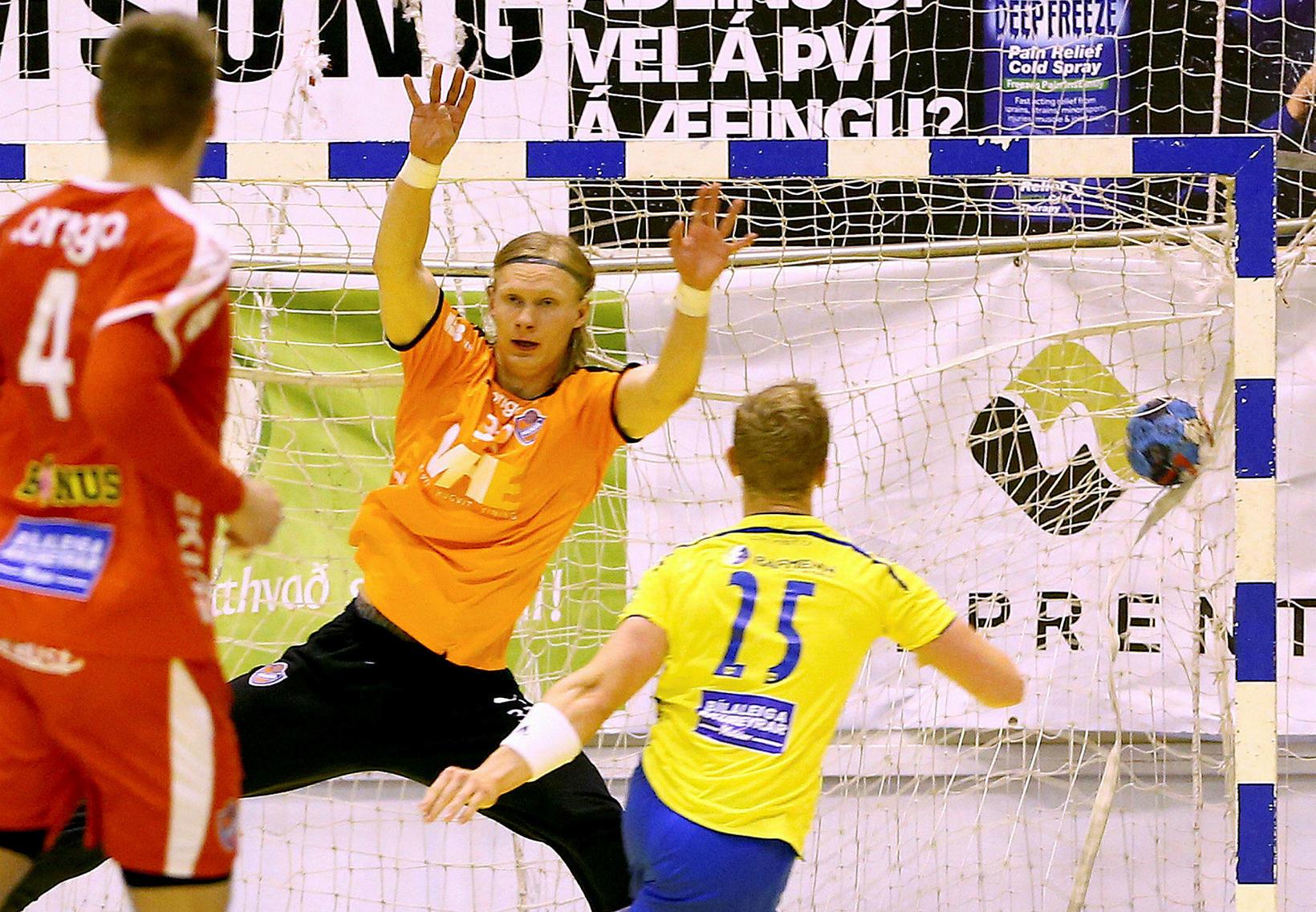 Grétar Ari Guðjónsson hefur spilað vel fyrir Nice á tímabilinu.