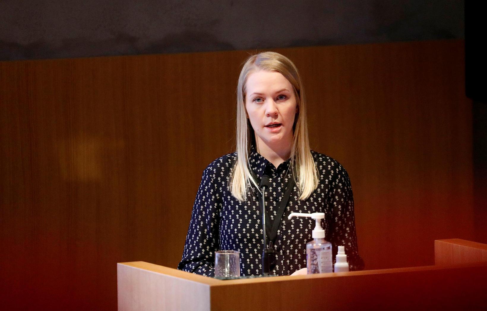 Erna Ívarsdóttir, statitician.