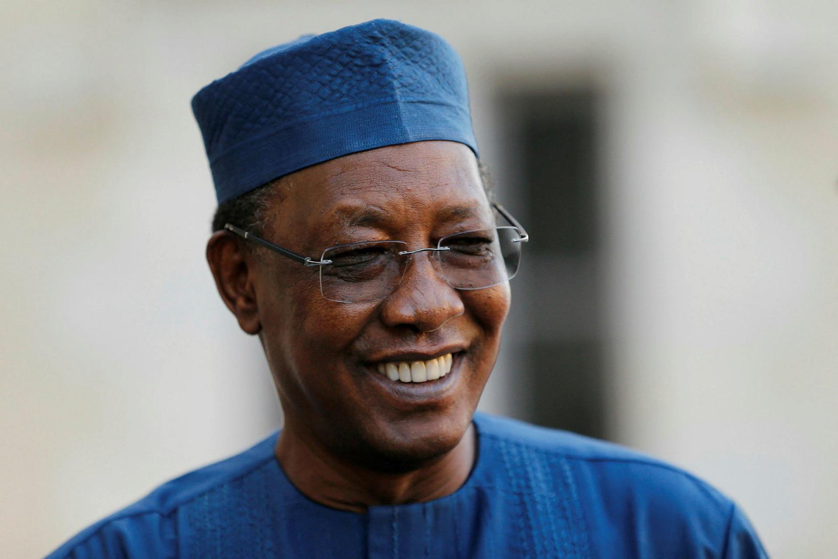 Idriss Deby hafði verið forseti Tjad frá 1990.