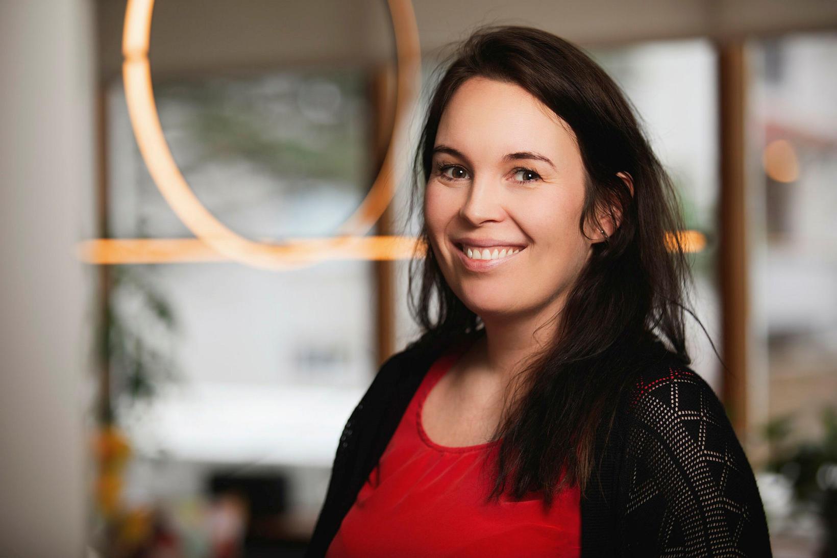 Kristjana M. Sigurðardóttir arkitekt.