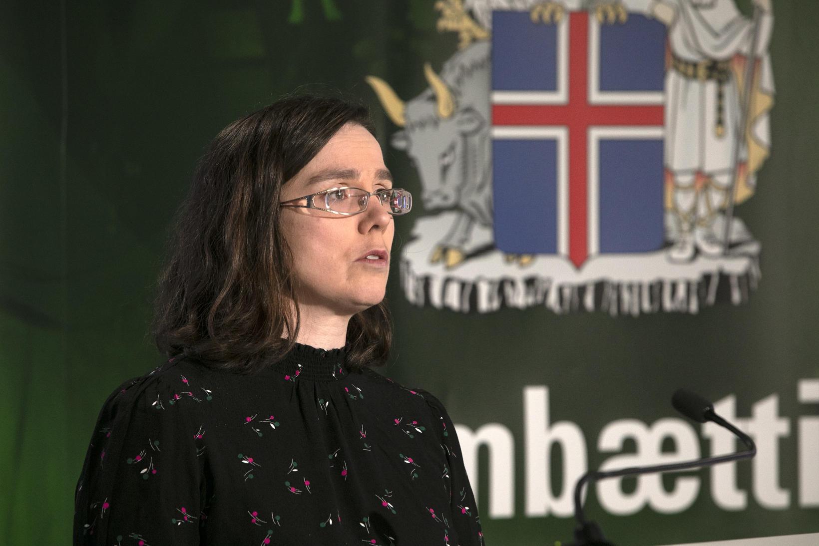 Kamilla Sigríður Jósefsdóttir, staðgengill sóttvarnalæknis.